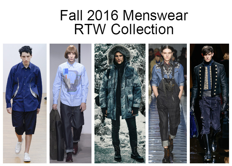 Fall 2016 Menswear RTW Collection–Part II