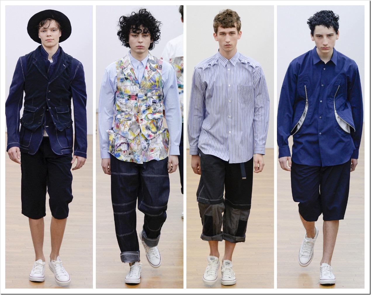 ComaComme des Garçons Shirt Menswear Collection at Fall 2016