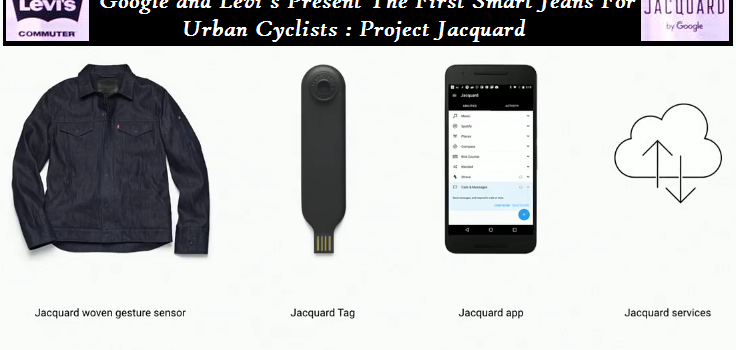 Google and Levi's Present The First Smart Jeans For Urban Cyclists : Project Jacquard
