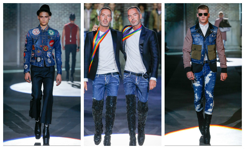 Dsquared2 Spring 2017 Menswear Collection !