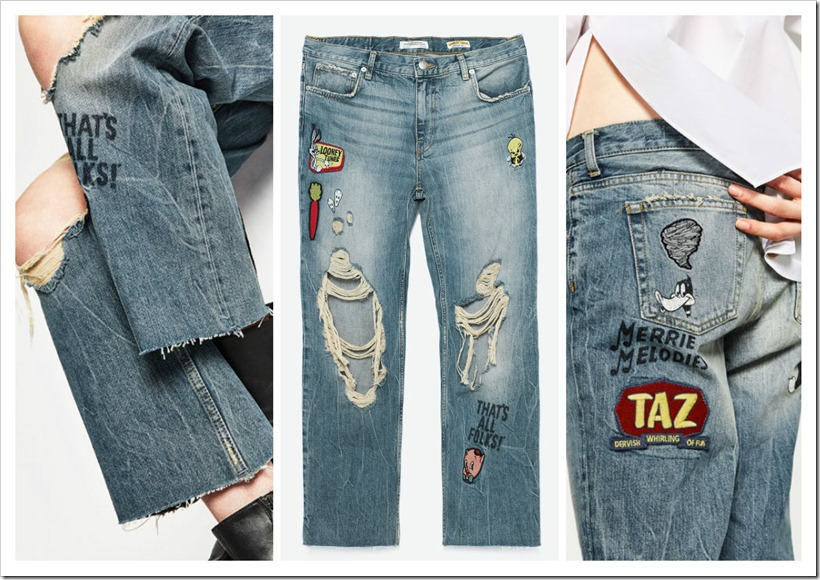 Comic Meets Denim : Zara  Collection : Denimsandjeans.com