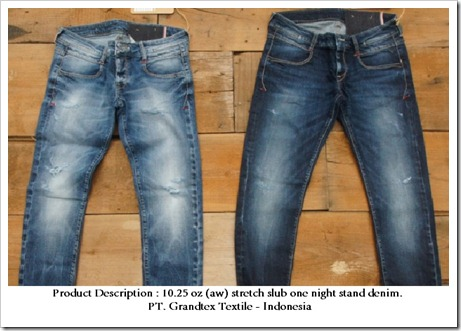 FIRST GLOBAL ONLINE DENIM SHOW