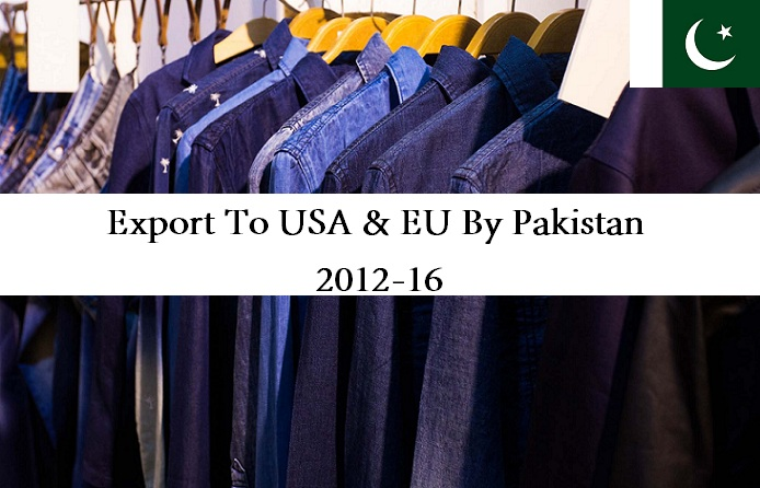 Export To USA & EU By Pakistan | 2012-16
