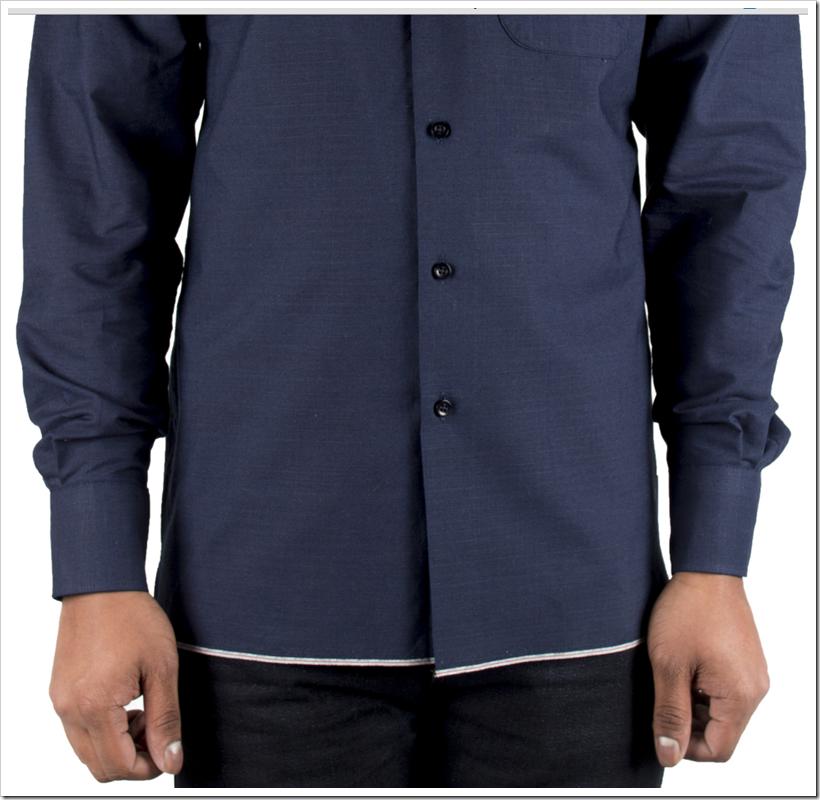 Indigo Selvedge Ripstop- Selvedge Shirt