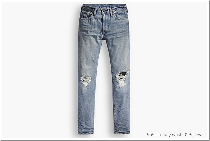 Relaunch Of Levi's 505 | Denimsandjeans.com