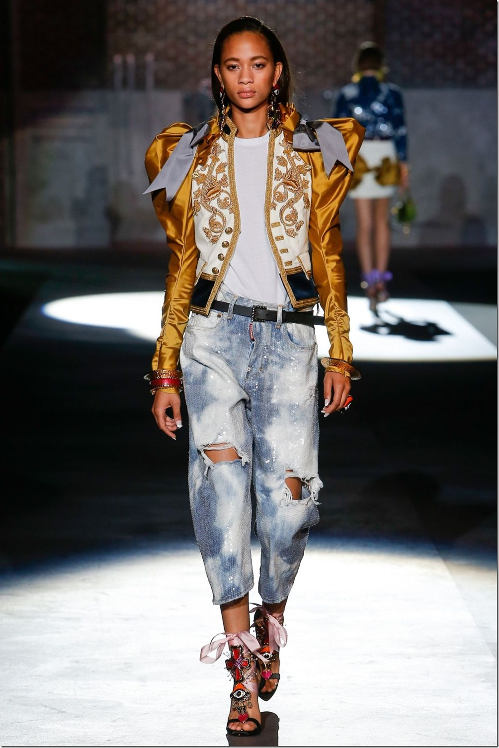 Dsquared2 Spring/Summer 2017 Ready to Wear Milan Fashion ...