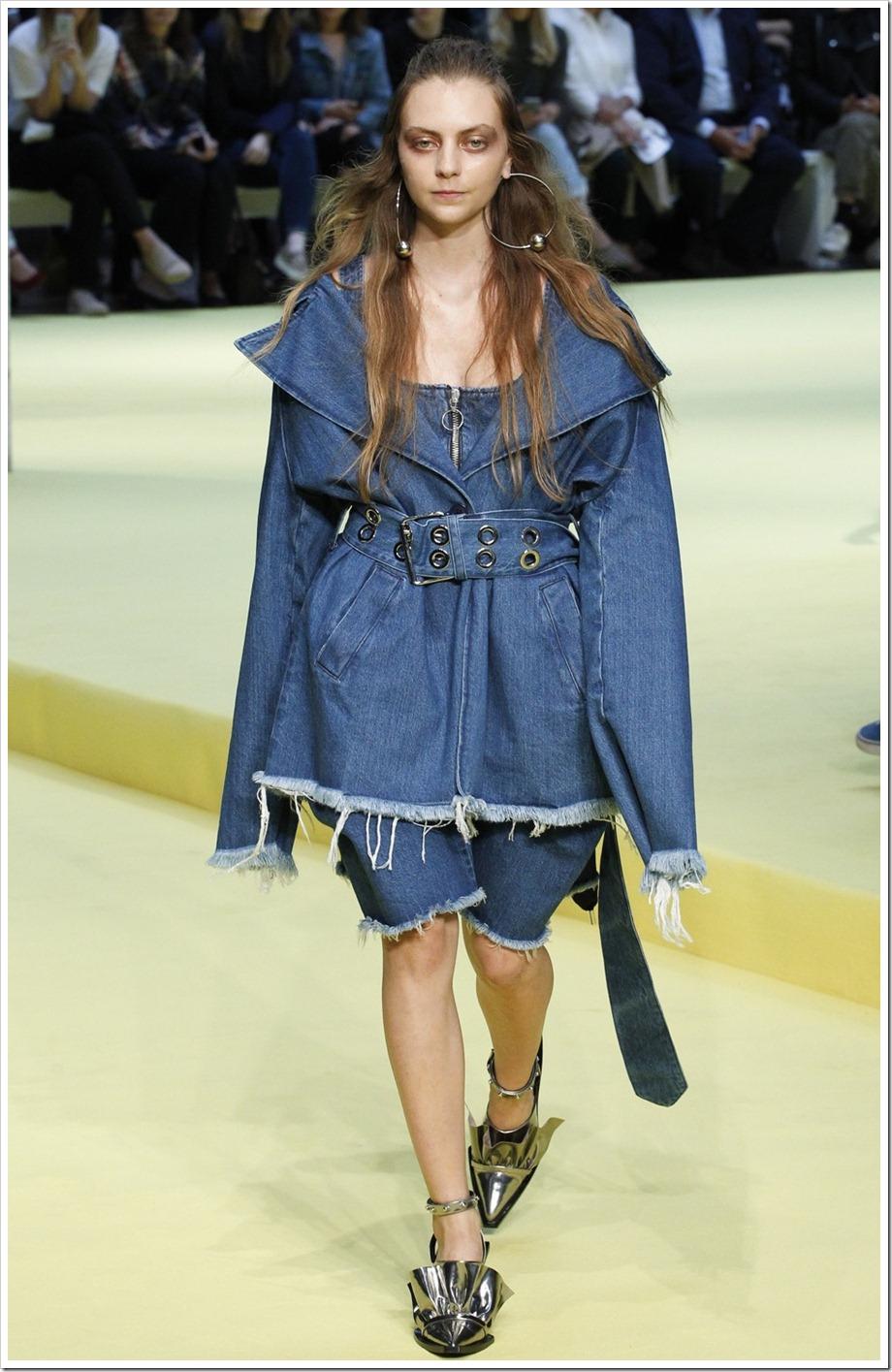 The Best Denim Trends of London Fashion Week SS–17 | Marques Almeida