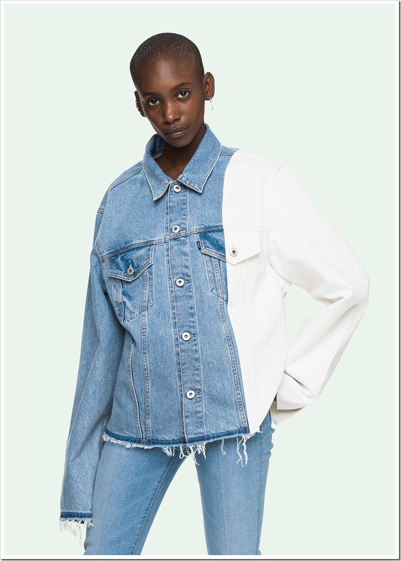 Levi's Off White | Denimsandjeans