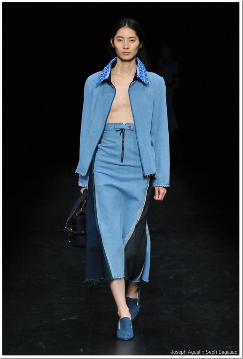 Denim And Knit Mix By Filipino Designer For Amazon Fashion Week | Denimsandjeans