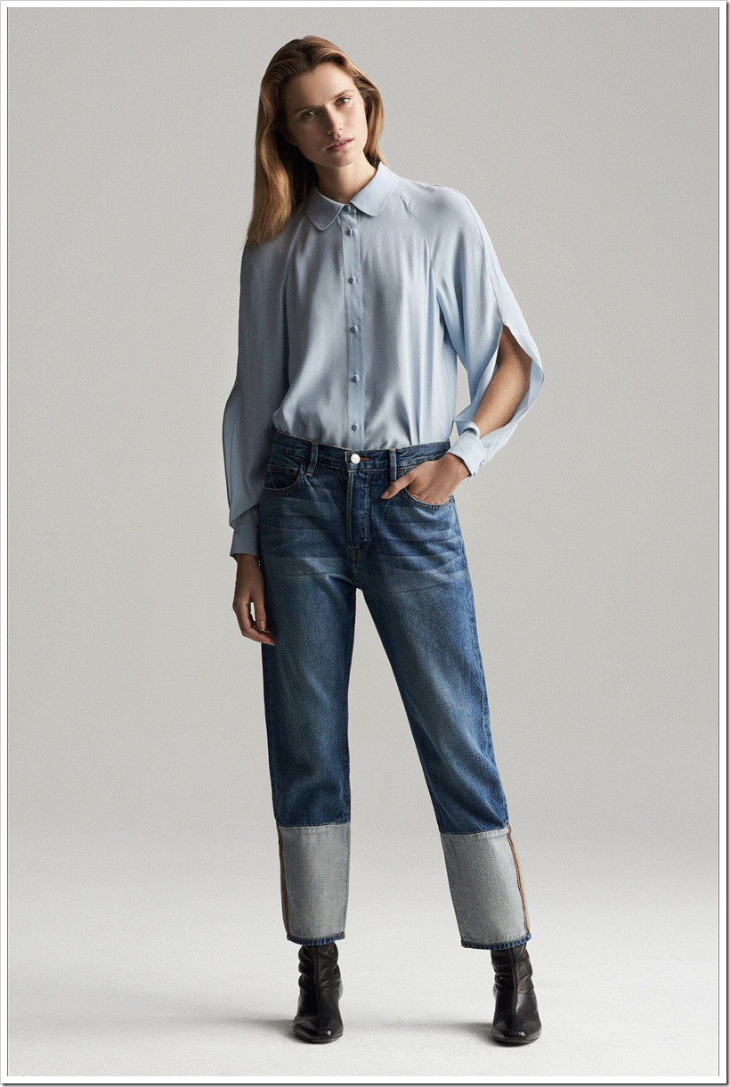 Pre Fall 2017 18 Frame Denim Looks Denim Jeans Trends