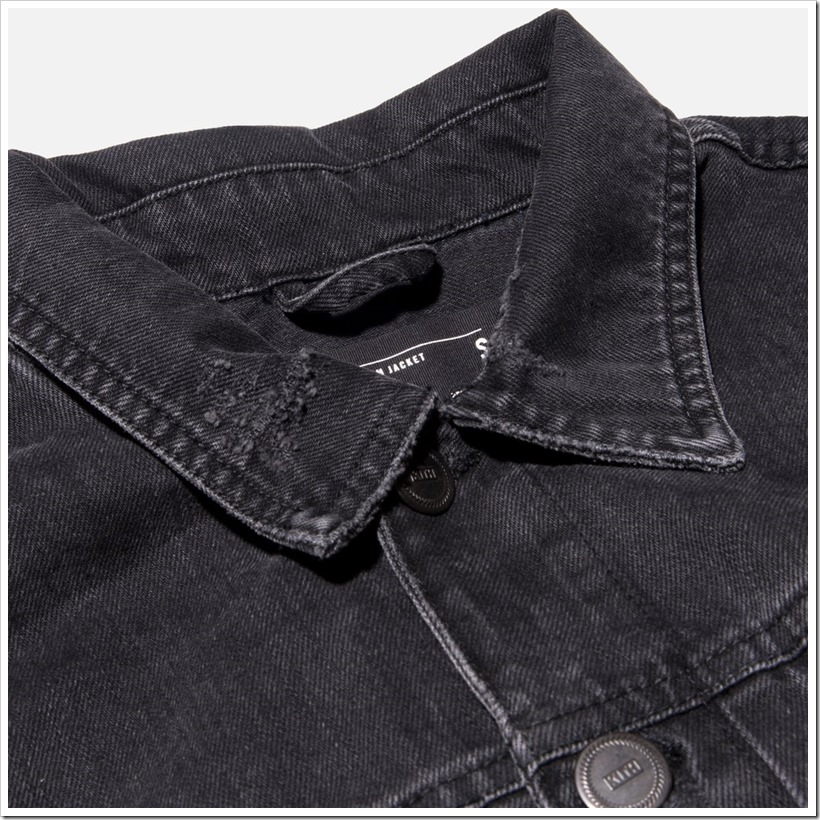 Hawkins Destroyed Denim Jacket | Denimsandjeans.com
