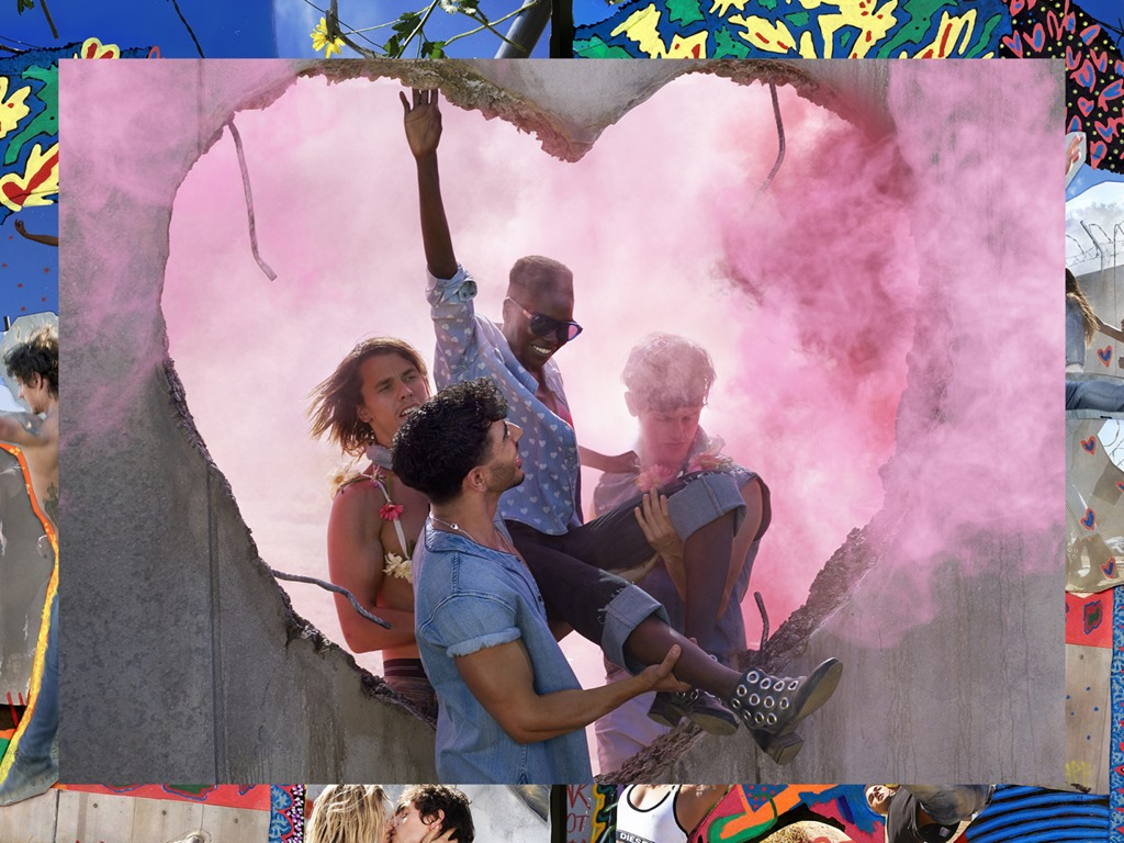 #MakeLoveNotWalls , The Uniform For Change Collection By Diesel