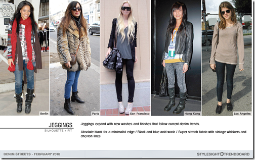 jeggings washes and trends