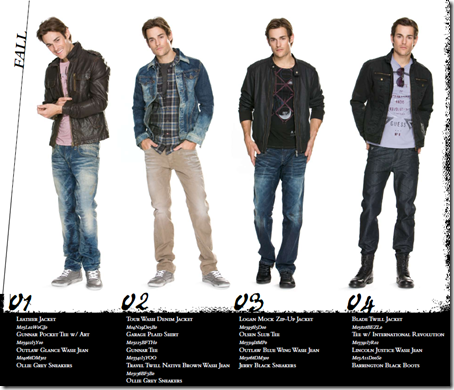 guess jeans 2010 fall winter mens