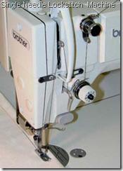 Single Needle Lockstitch  Machine