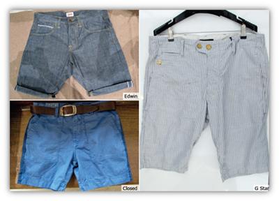 prepster shorts denim g star