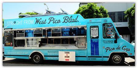 gap pico trucks denim food