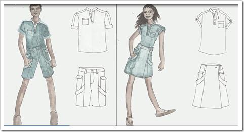 school uniforms in denim 2