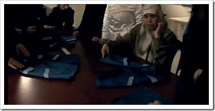 Denim uniforms