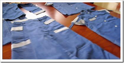 School uniforms - denim