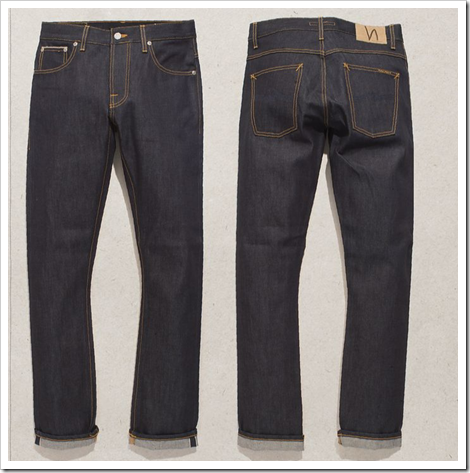 dry selvedge denim nudie