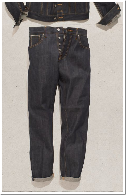 dry selvedge denim nudie jeans
