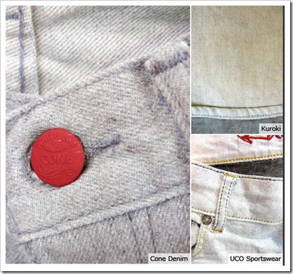 Marled Grey Uco Sportswear Cone denim
