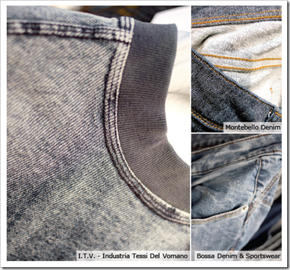 Knit Indigo I.T.V Industria tessi del vomano Montebello denim