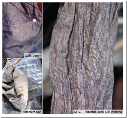 Linen/cotton calik denim I.t.v-industria tessi del vomano denim
