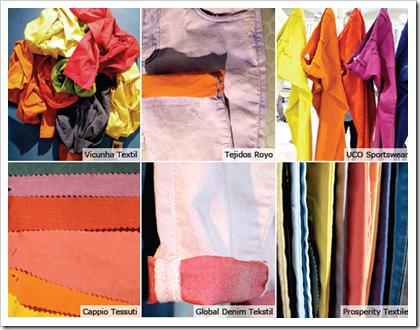 Color explosion vicunha texti tejidos royo uco sportswear denim