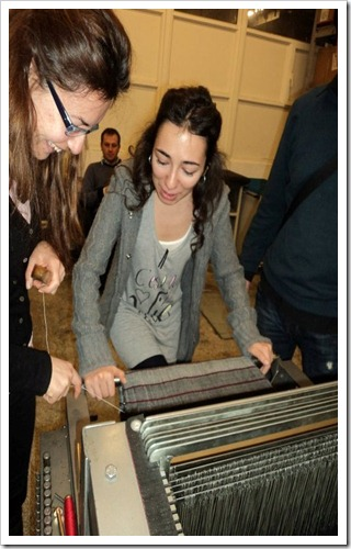 Denimacademy weaving workshop