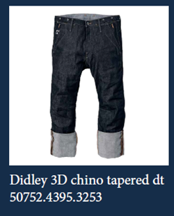 3D Chino tapered G Star Jeans