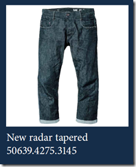 New Radar Tapered G Star