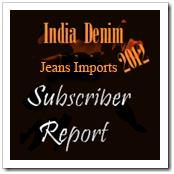 India Import of denim Jeans