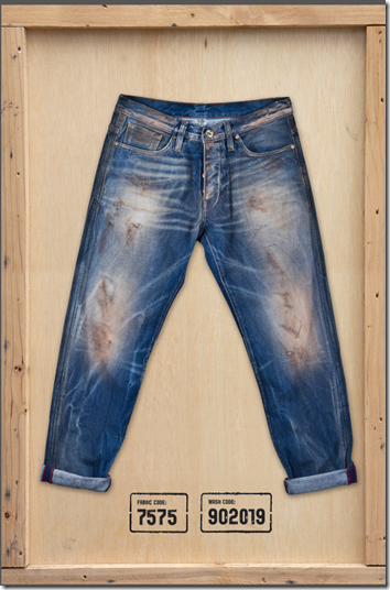 Orta Vintage Denim Fabrics - Autumn Winter 2013-2014