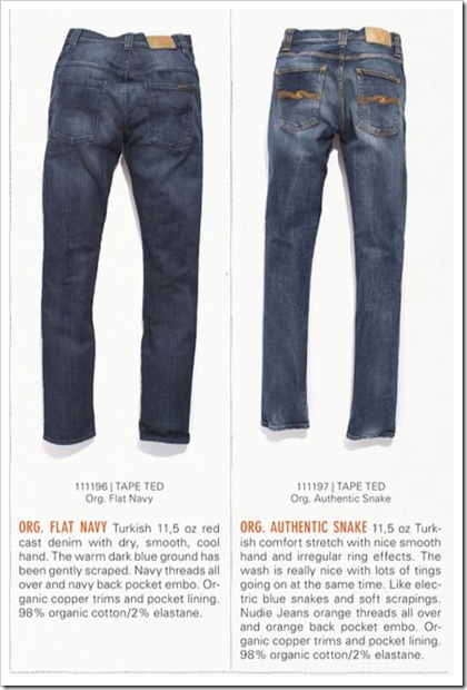 Nudie Jeans - Fall Winter 2012 - Tape Ted