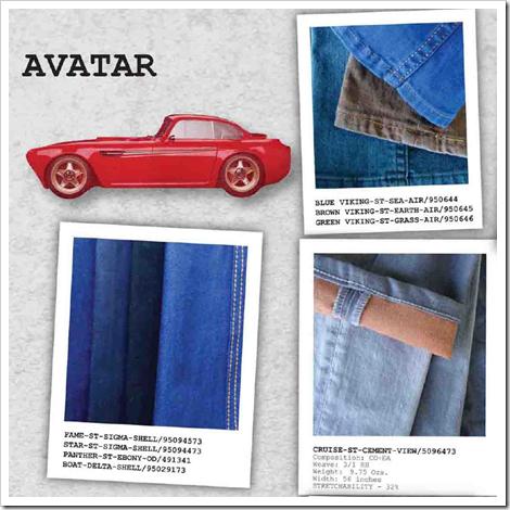 avatar fabrics ss14 arvind