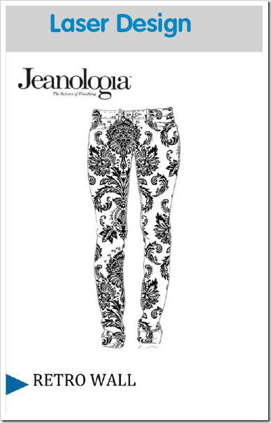 Jeanologia Laser Prints | Retro Wall