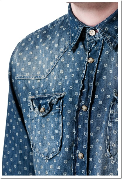 Denim Print From Zara Ss 13 Denim Jeans Trends News