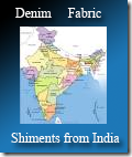 denim fabric shipments from India