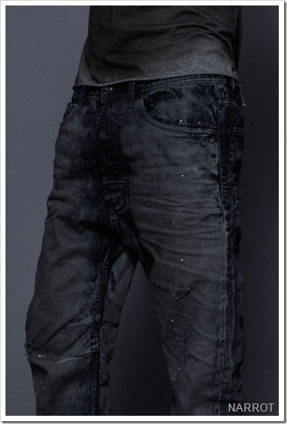 diesel NARROT JEANS FALL WINTER 13 DENIM COLLECTION