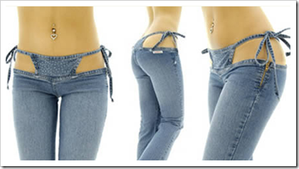 Lowest waist jeans ever?