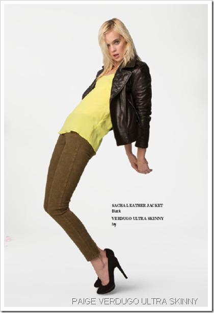 Paige Denim Fall Winter 2013 Women's Lookbook