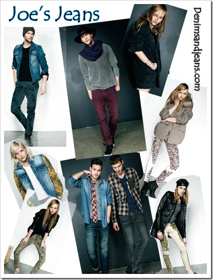 Joes Jeans Fall Winter 2013 Collection