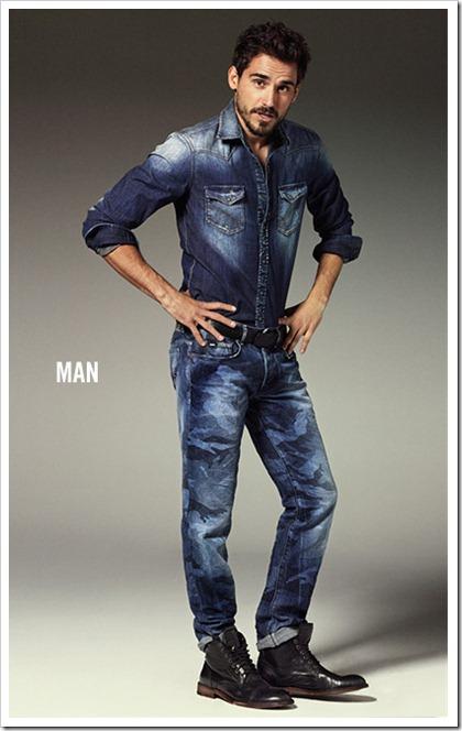 Gas Jeans - double denim