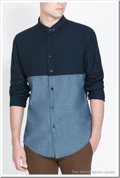Latest Denim Shirts Collection From Zara Double Barrel