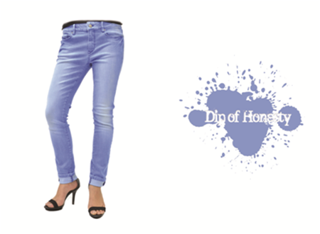 one dip denim color