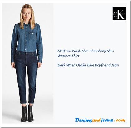 Calvin Klein SS' 14 Women's Lookbook