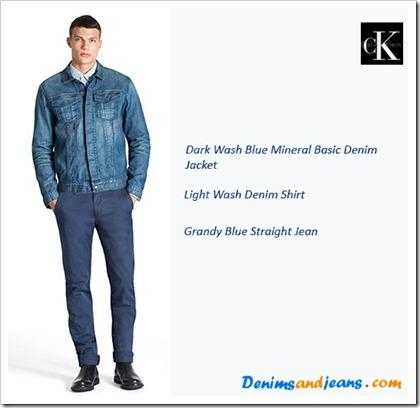 Calvin Klein SS' 14 Men's Lookbook