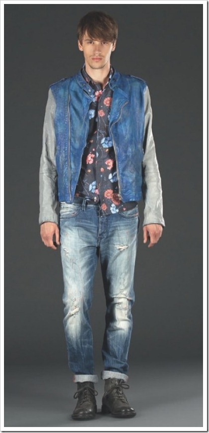 Replay SS' 14 Men's Denim Lookbook